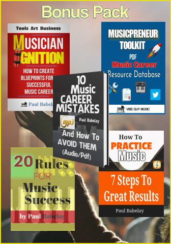 Image of Musician Ignition and 4 other books bundled  in a discount price