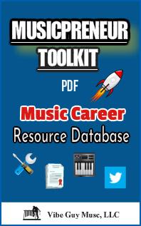 Cover image of Musicpreneur Toolkit PDF